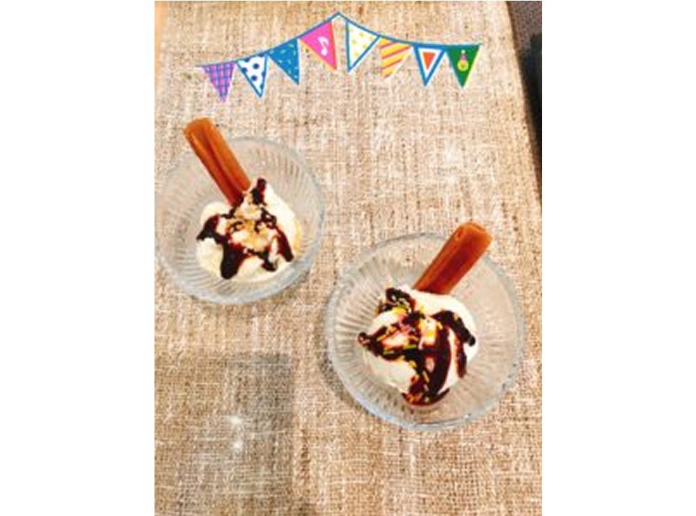 アイスクリームはじめました♪サムネイル画像