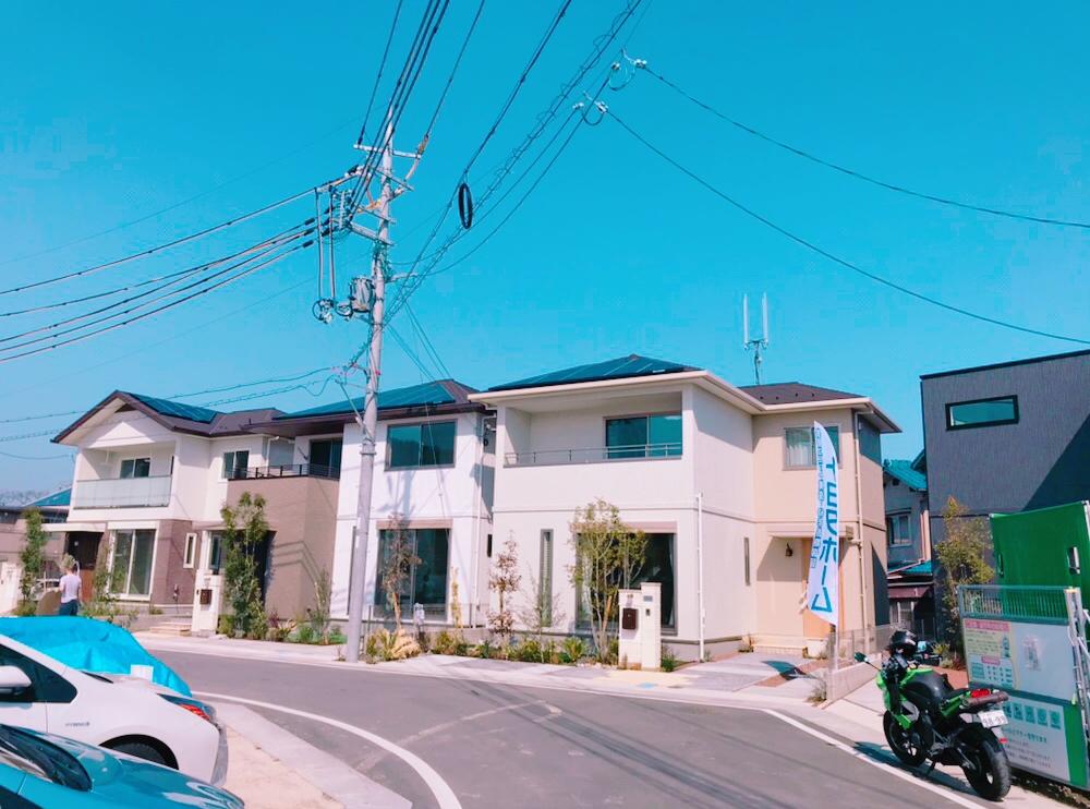 建売分譲4邸完成☆サムネイル画像